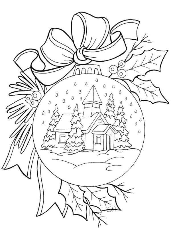 mistletoe coloring pages # 13