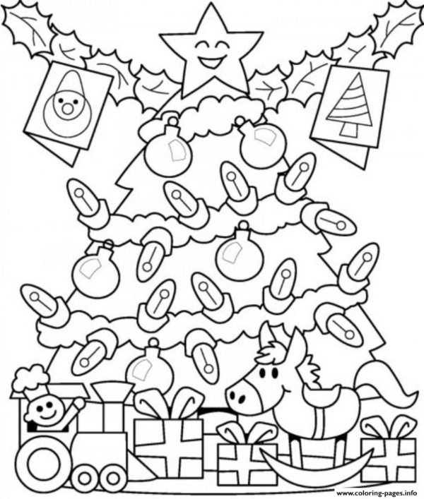 christmas lights coloring pages # 27