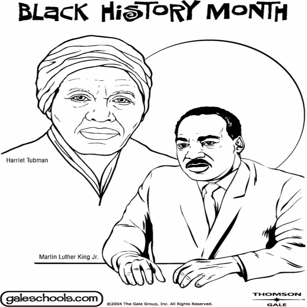 Coloring Pages Of Black History Month At Getdrawings