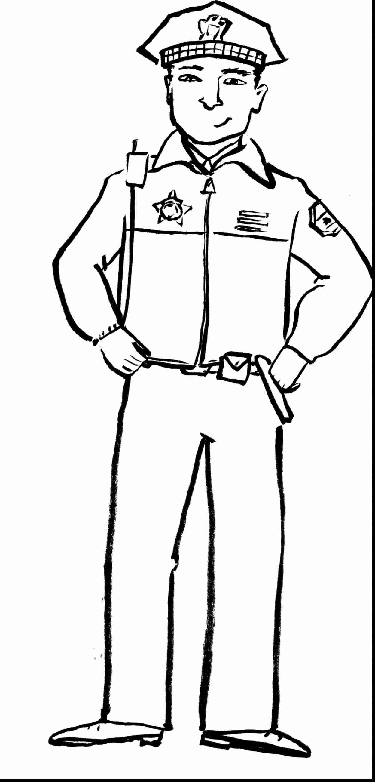 Community Helpers Coloring Pages At Getdrawings