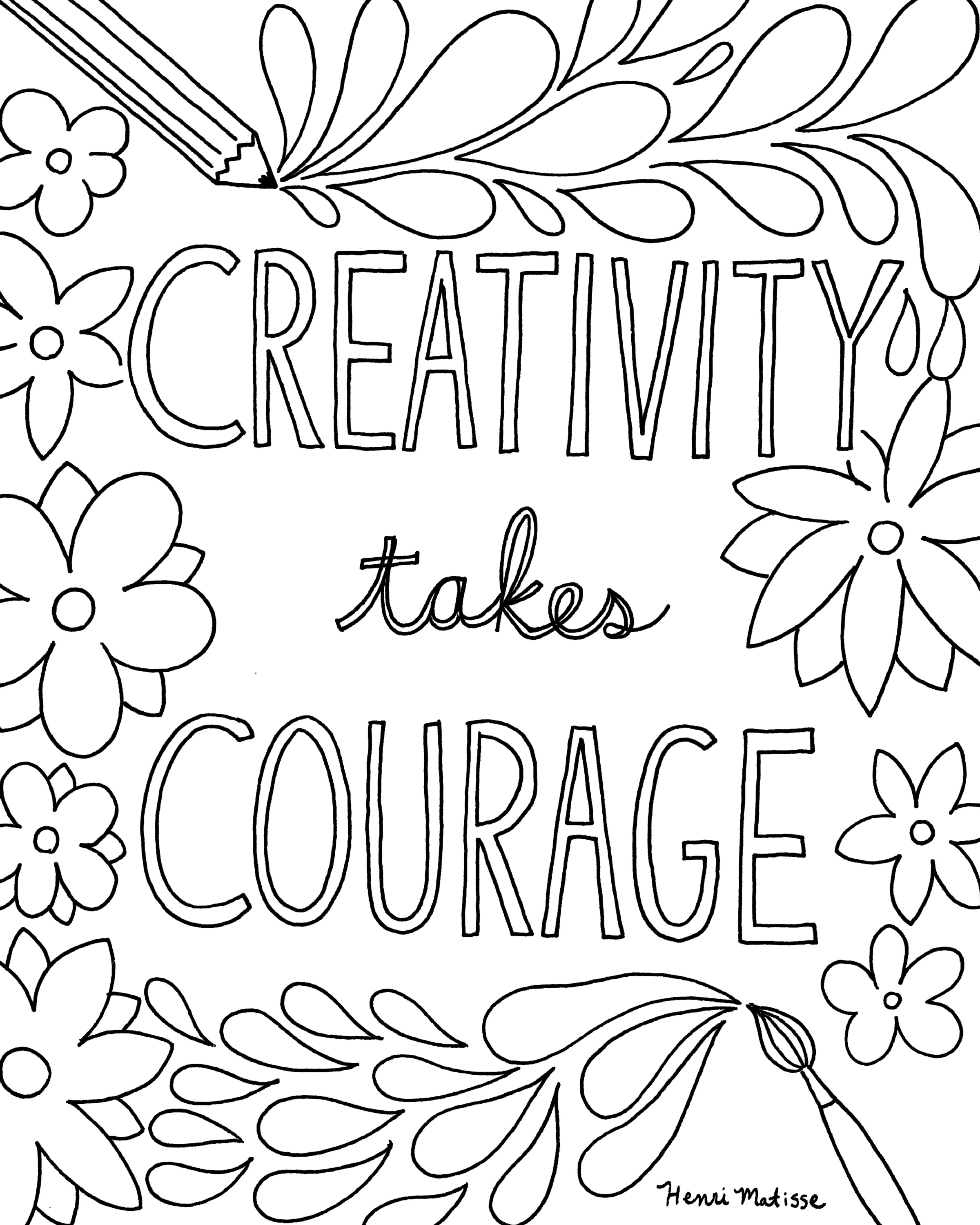 The Best Free Quote Coloring Page Images Download From