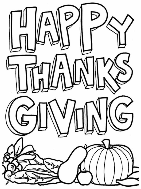 free thanksgiving coloring pages printable # 39
