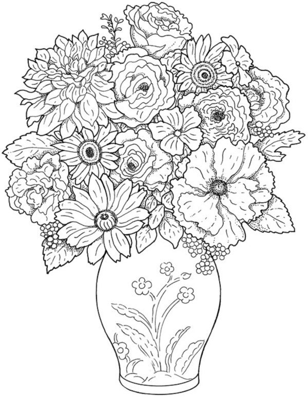 very detailed coloring pages # 51