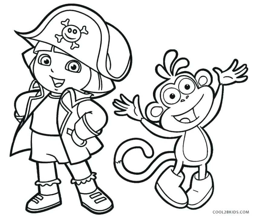 dora and friends coloring pages at getdrawings  free download