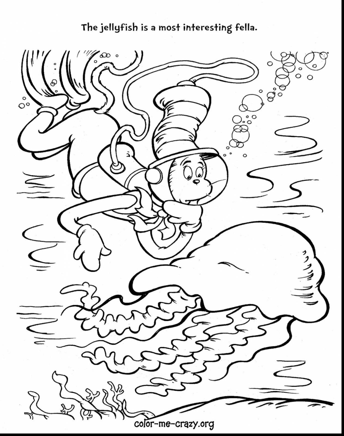 Dr Seuss Coloring Page Printable At Getdrawings