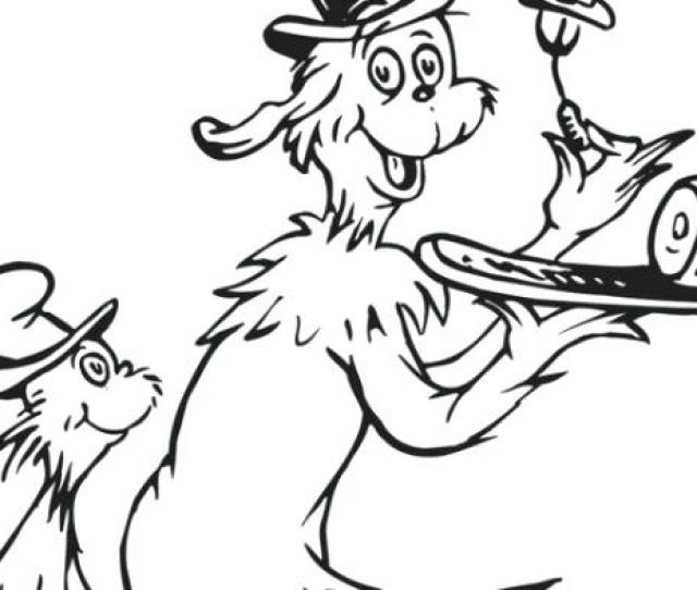 Dr Seuss Coloring Pages At Getdrawings Free Download