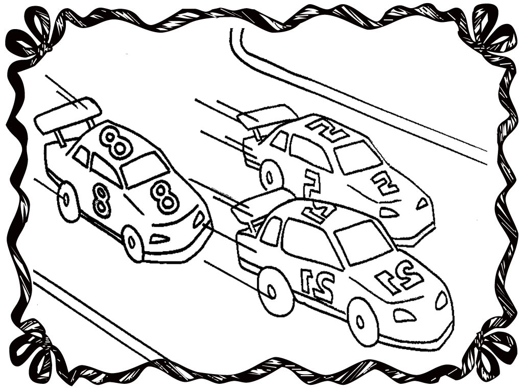 Dragster Coloring Pages At Getdrawings