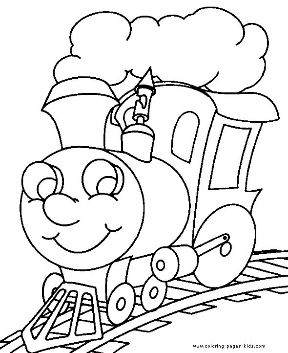 train coloring pages printable # 57