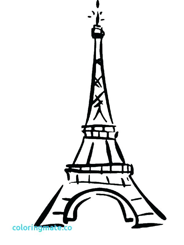 eiffel tower coloring pages # 76