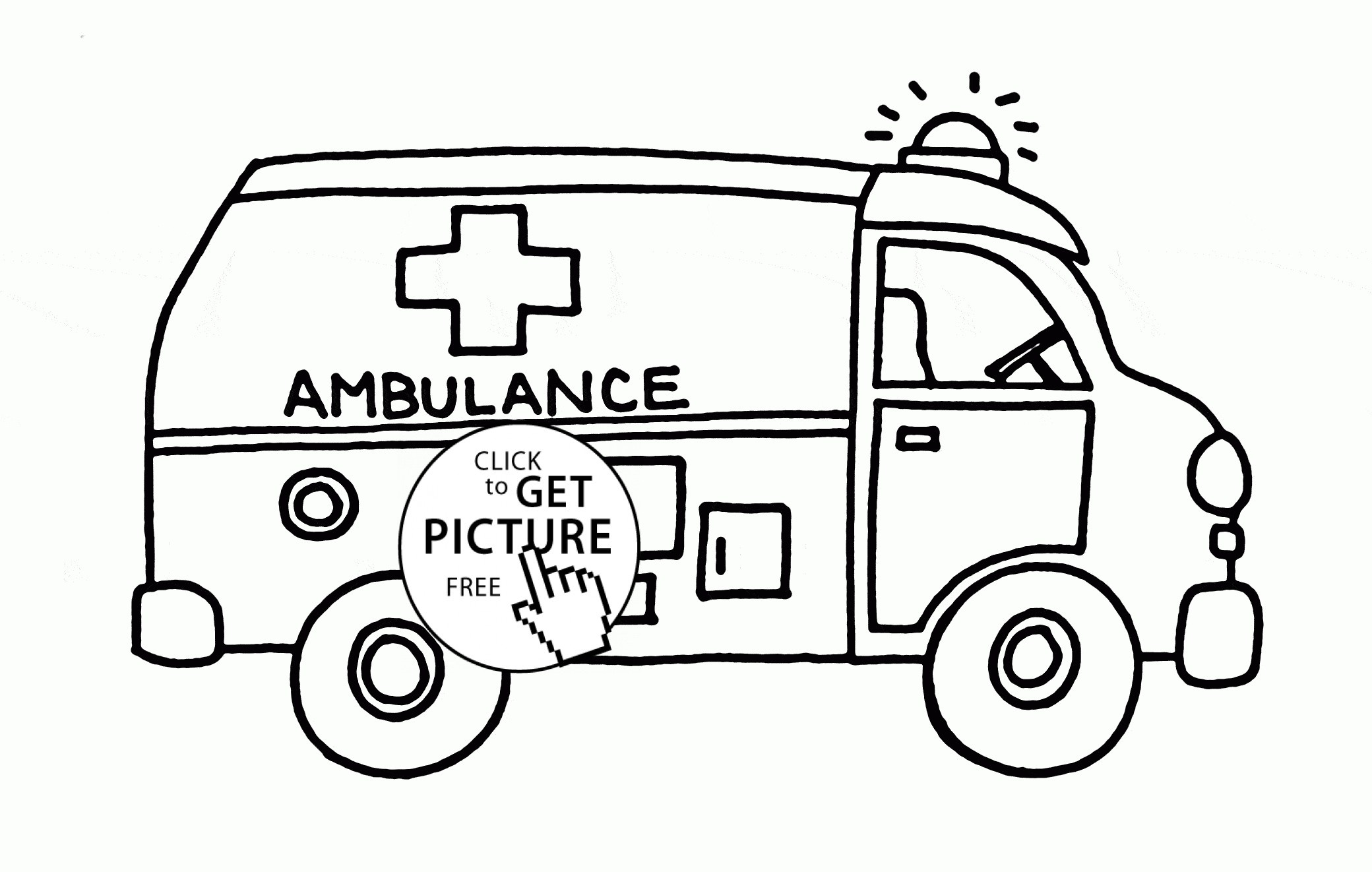 The Best Free Ambulance Coloring Page Images Download From 140 Free Coloring Pages Of Ambulance