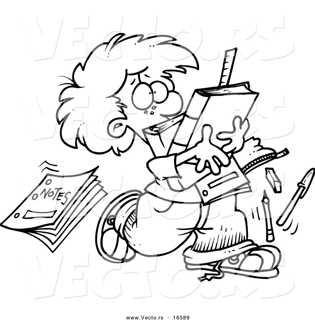 End Of School Coloring Pages At Getdrawings