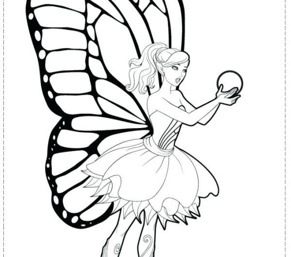 fairy princess coloring pages # 39