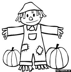 fall coloring pages for preschoolers # 81