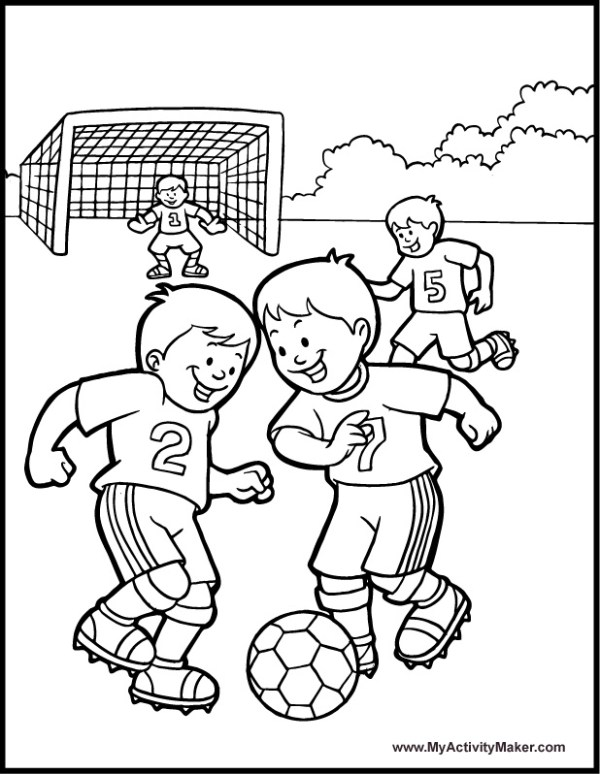 football player coloring page # 62