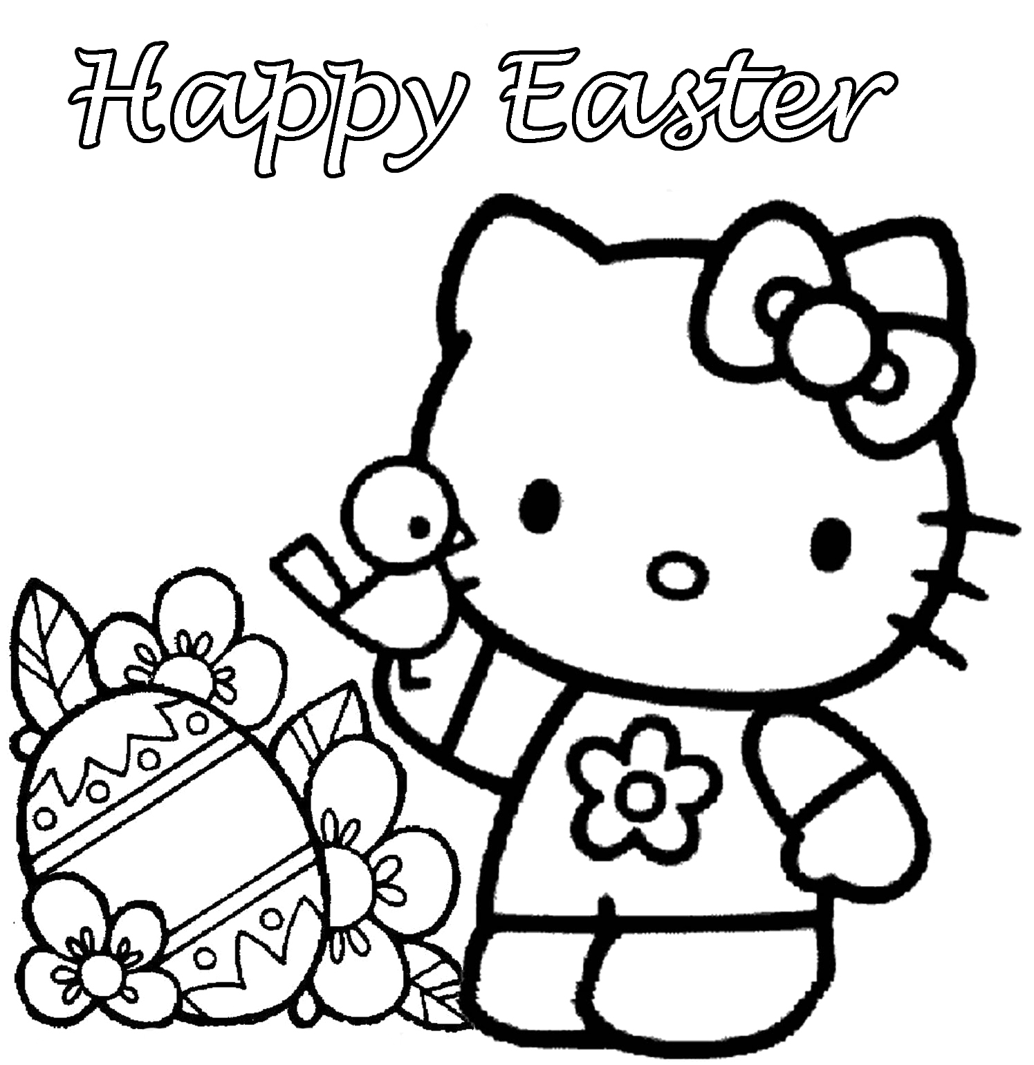 Free Easter Coloring Pages At Getdrawings