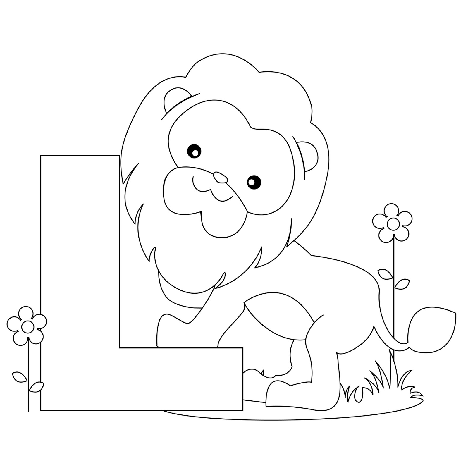 Free Letter A Coloring Pages At Getdrawings
