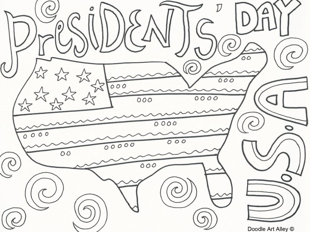 Free President Coloring Pages At Getdrawings