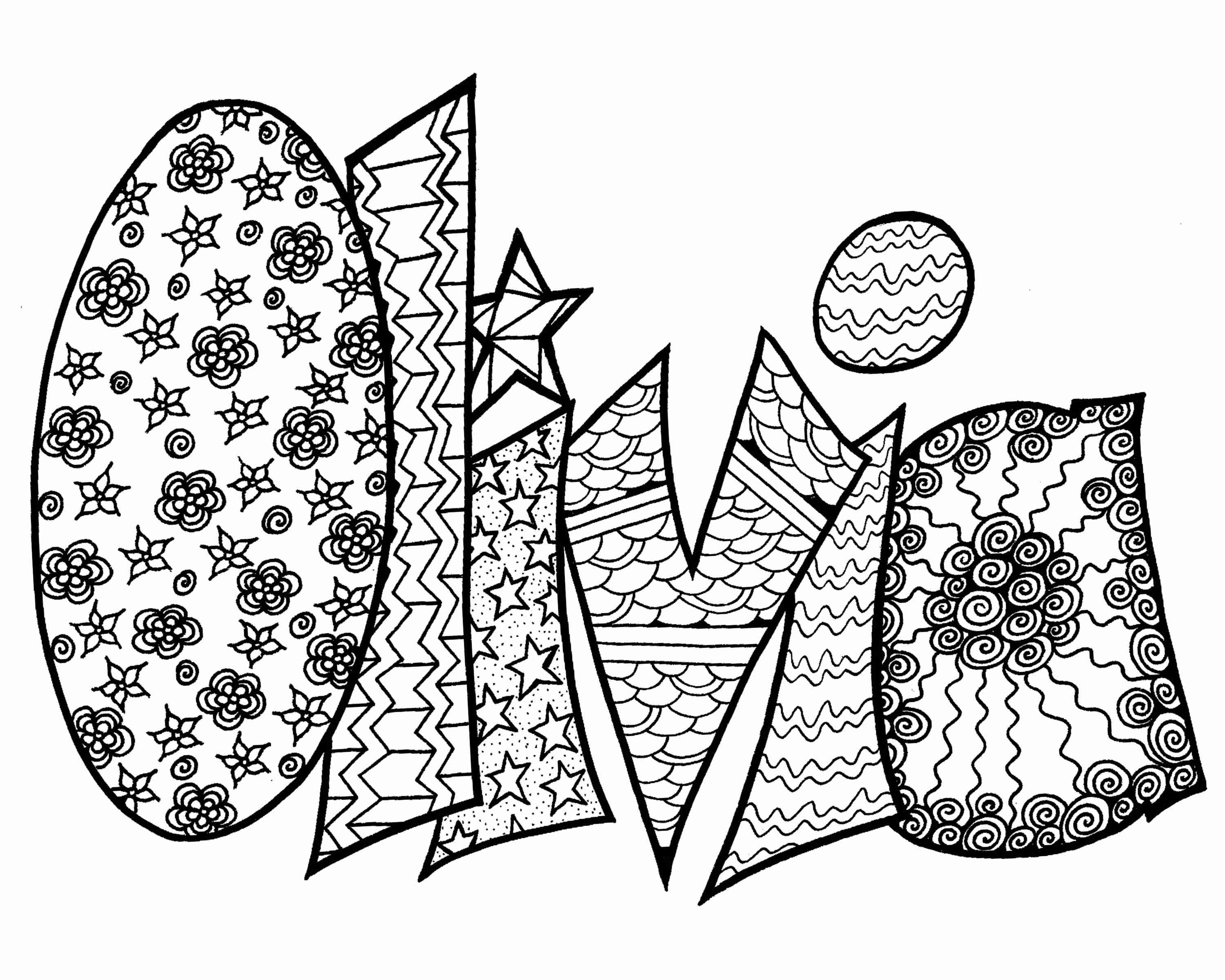 Free Printable Name Coloring Pages At Getdrawings