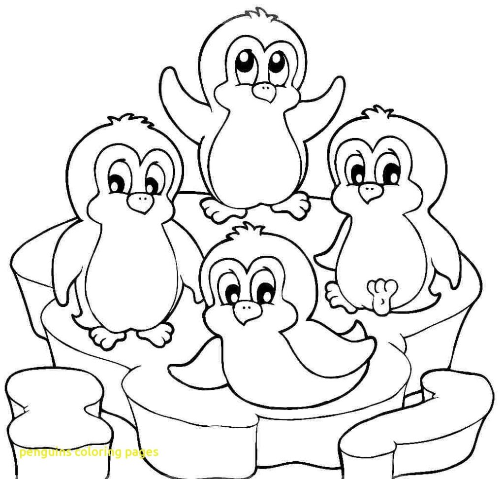 30 Free Penguin Coloring Pages Printable | 972x1024