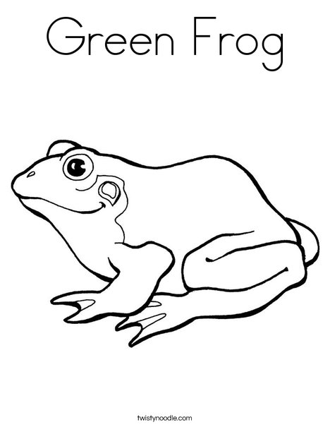 frogs coloring pages # 28