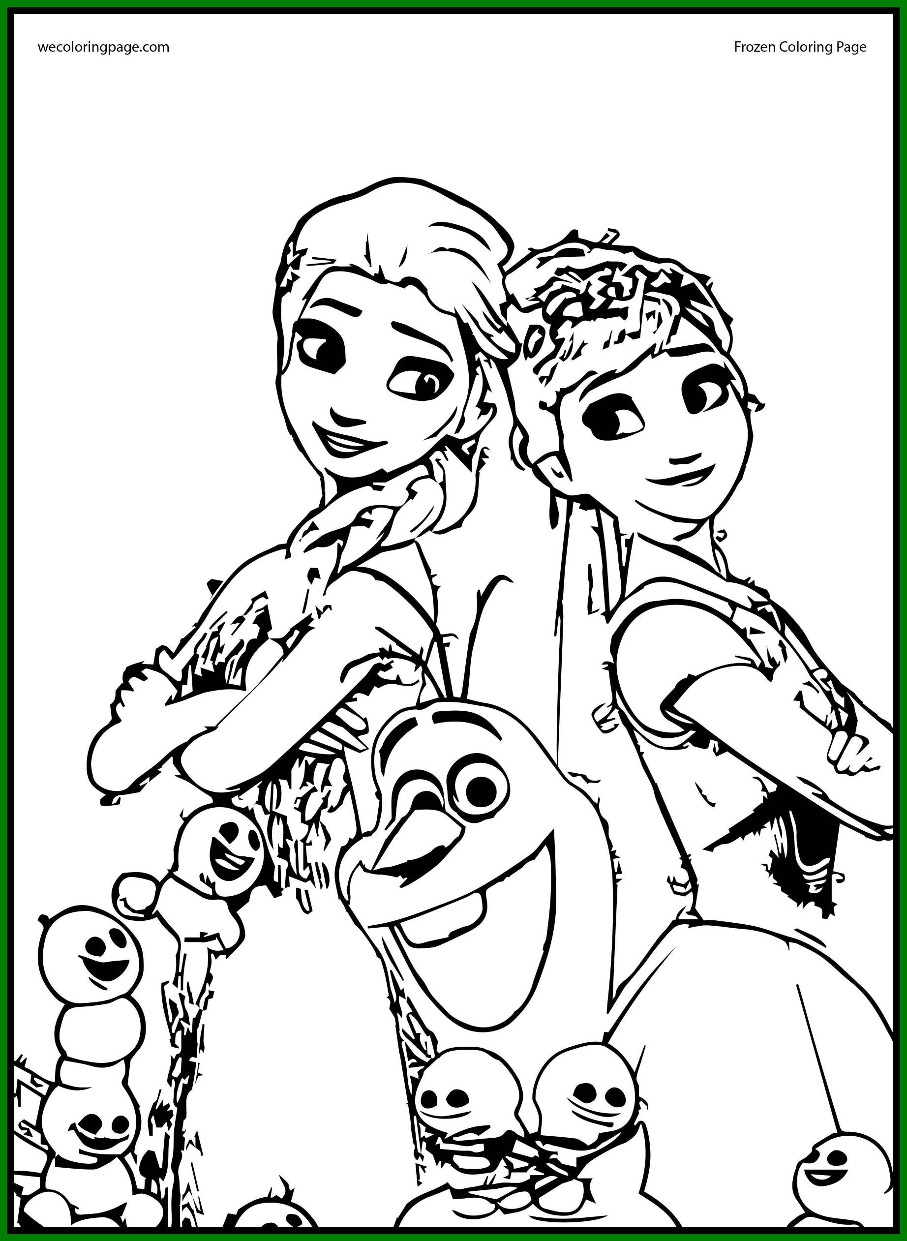 Frozen Happy Birthday Coloring Pages At Getdrawings