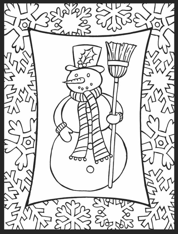 holiday coloring pages printable free # 72