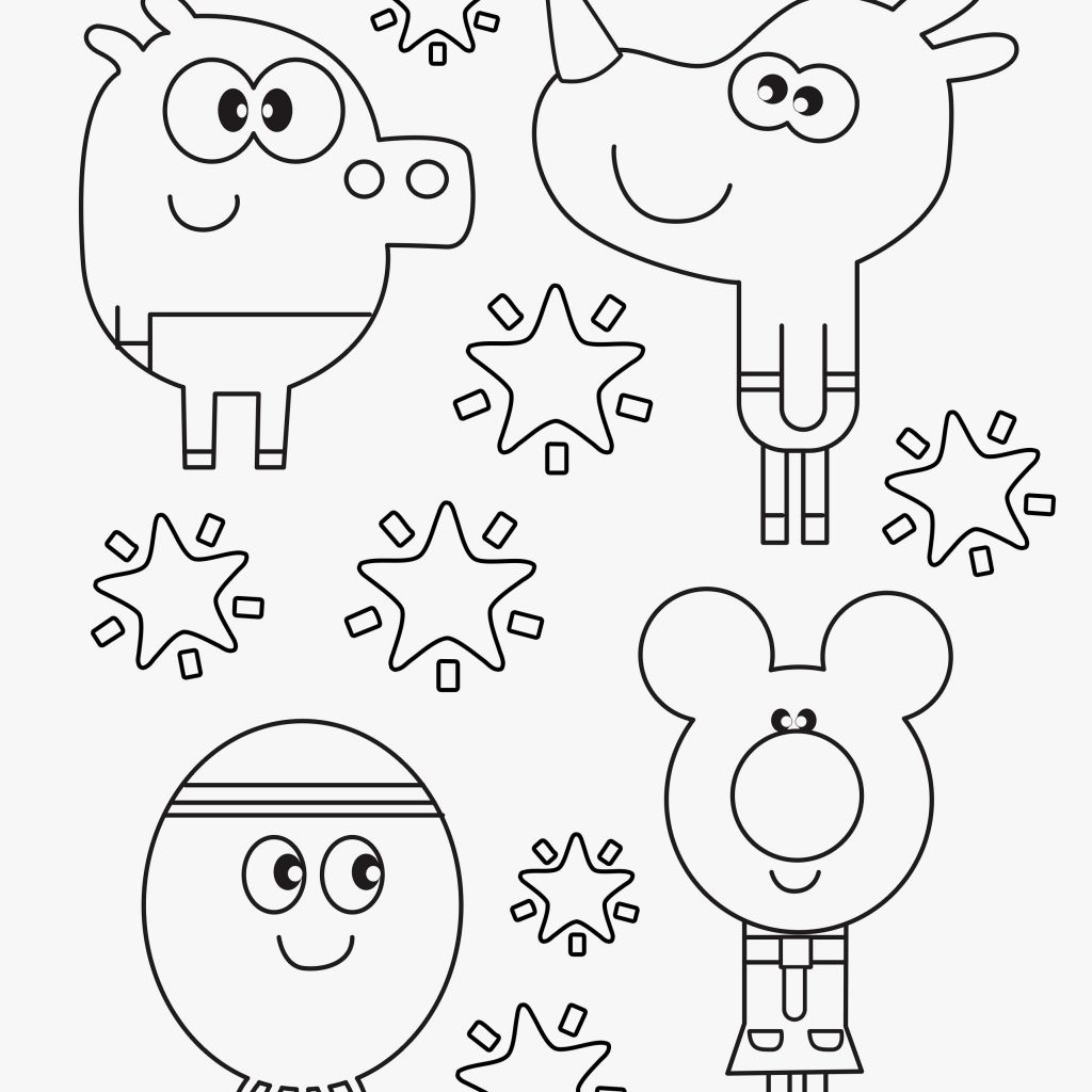 Hey Duggee Coloring Pages At Getdrawings