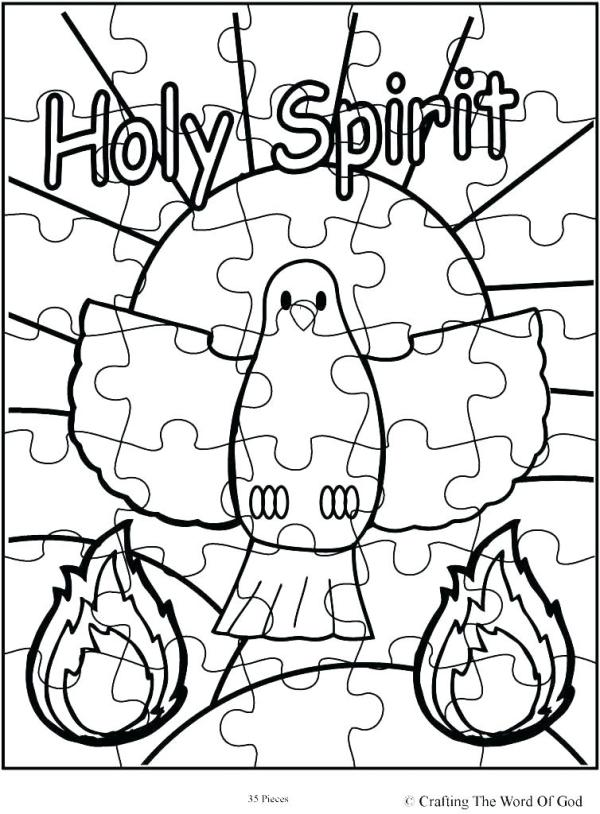 holy spirit coloring pages # 20