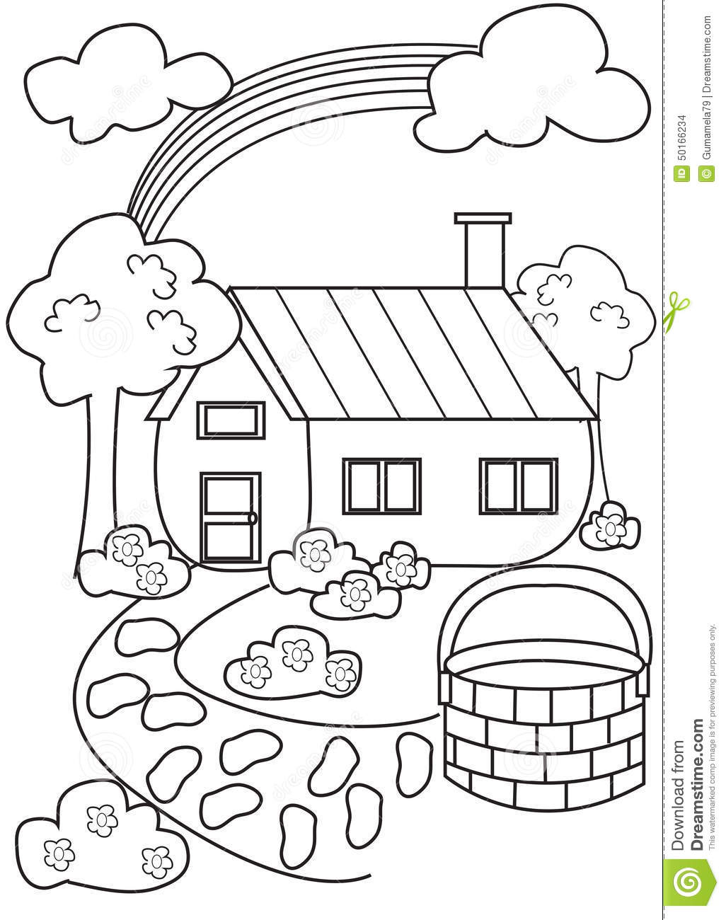 House Coloring Pages For Kids At Getdrawings