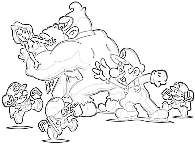 donkey kong coloring pages at getdrawings  free download