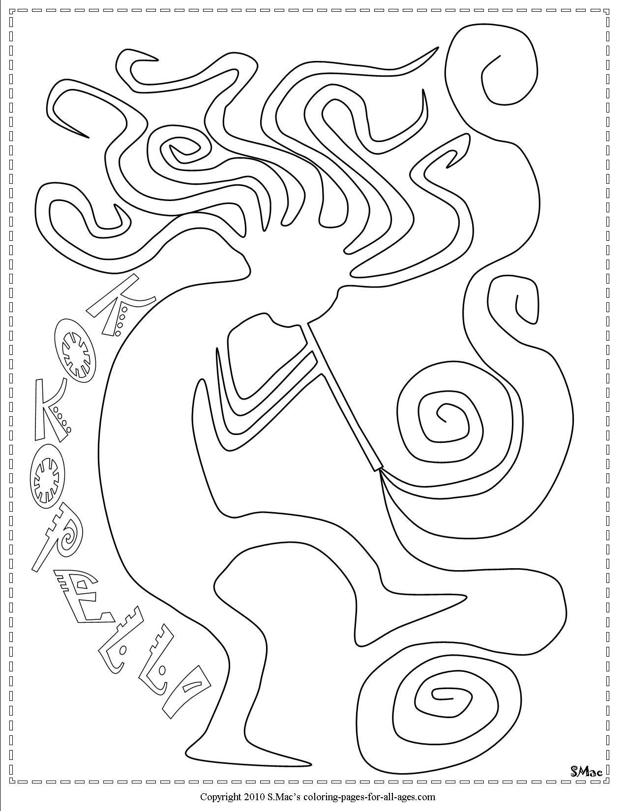 The Best Free Southwest Coloring Page Images Download