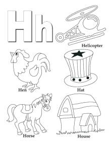 Letter X Coloring Pages For Preschoolers