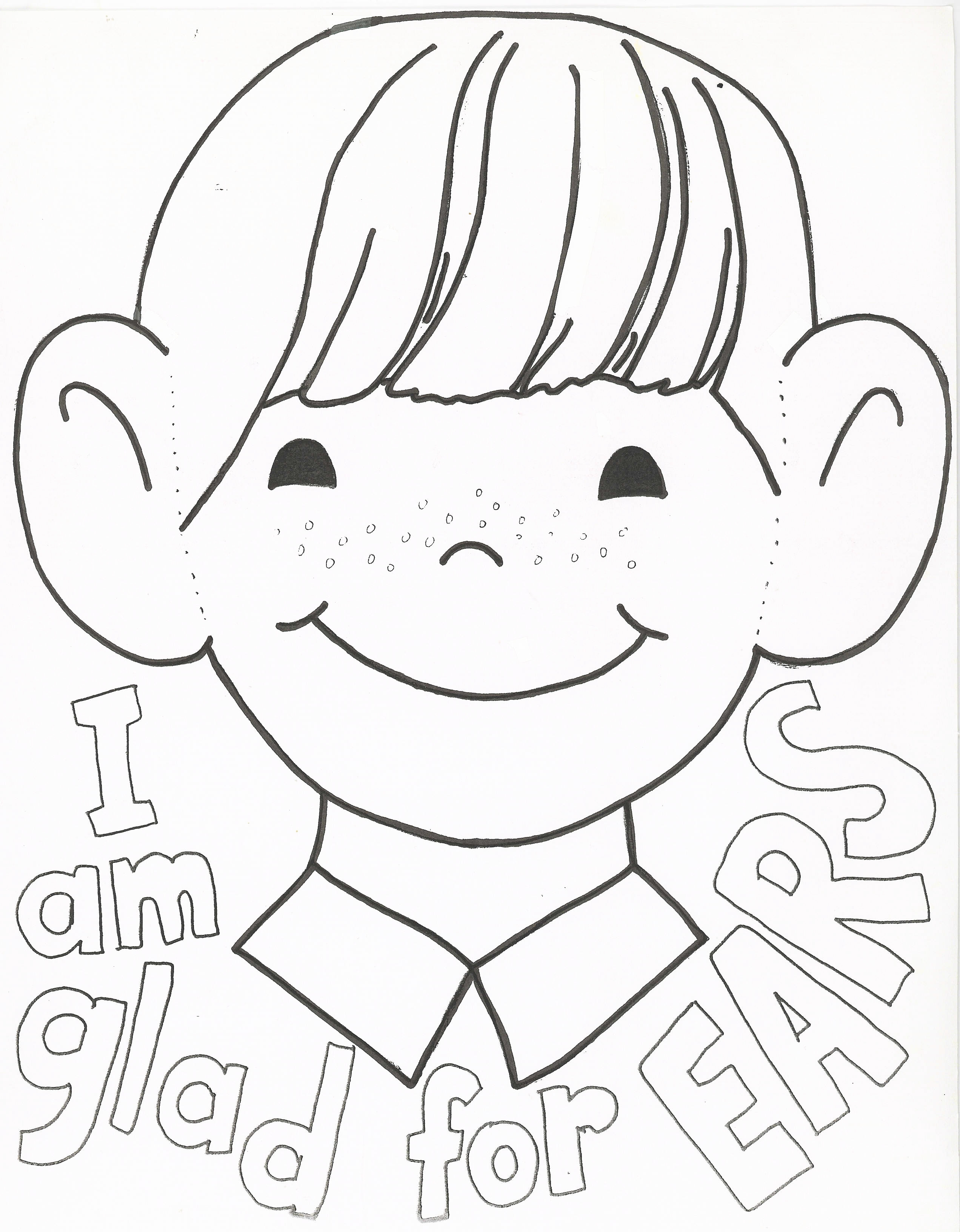 Listening Coloring Pages At Getdrawings