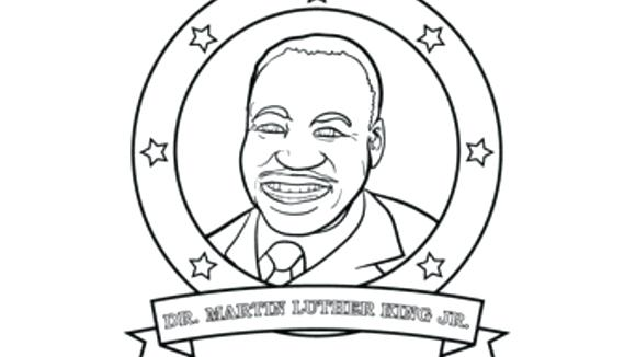 martin luther king coloring pages free # 36
