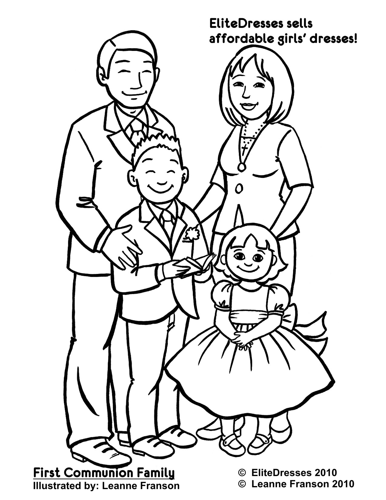 Me And My Family Coloring Pages At Getdrawings