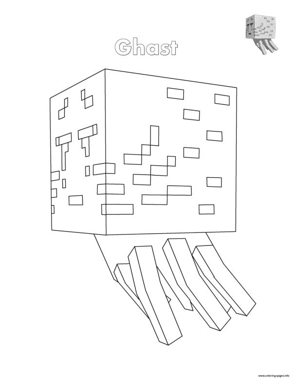 minecraft coloring pages to print # 75