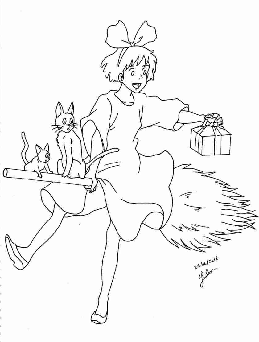 miyazaki coloring pages at getdrawings  free download