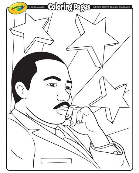 martin luther king coloring pages free # 22