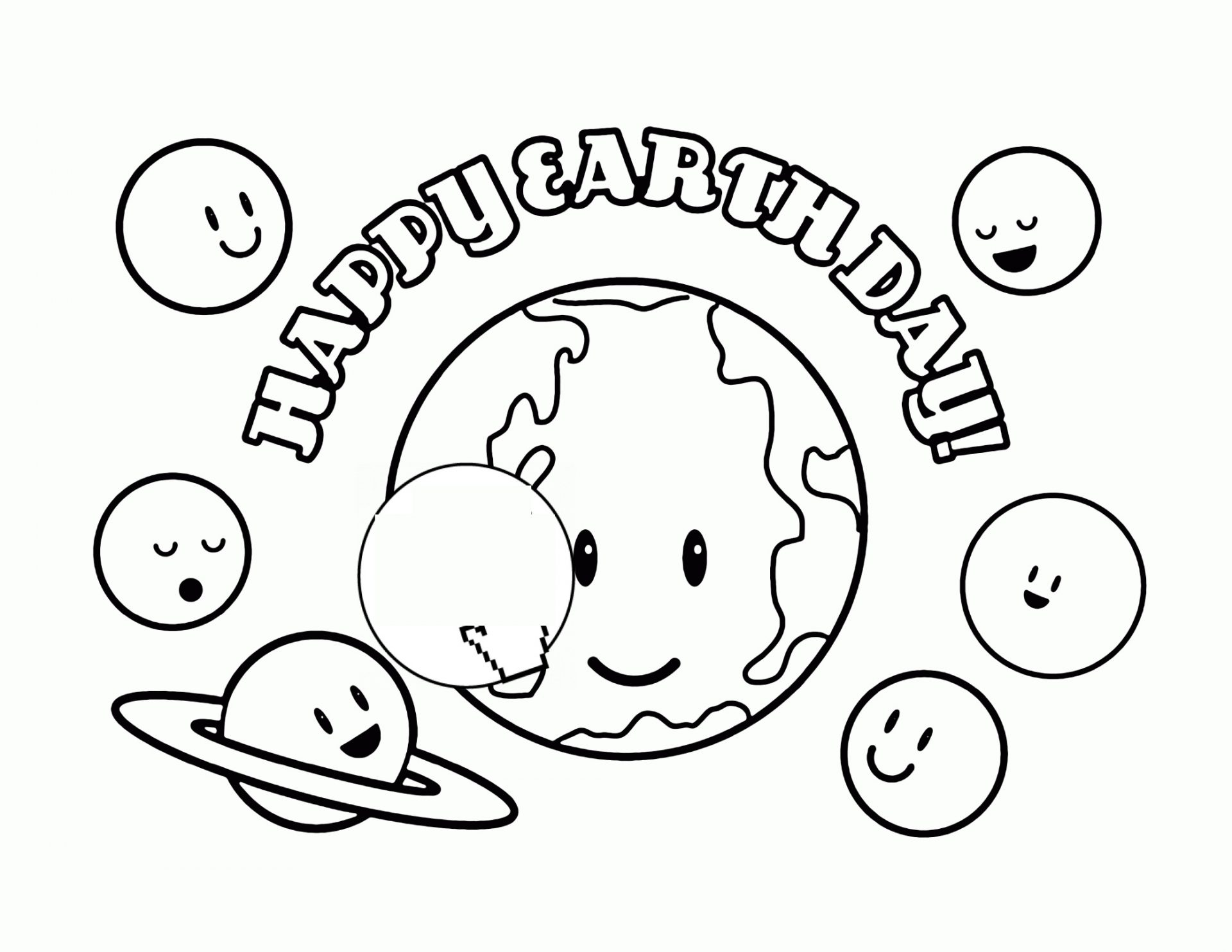 Mother Earth Coloring Pages At Getdrawings