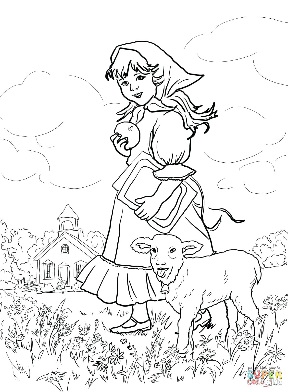 The Best Free Rhyme Coloring Page Images Download From