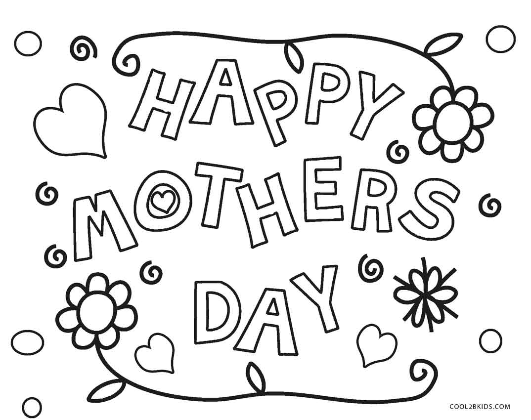 Mothers Day Coloring Pages Grandma At Getdrawings