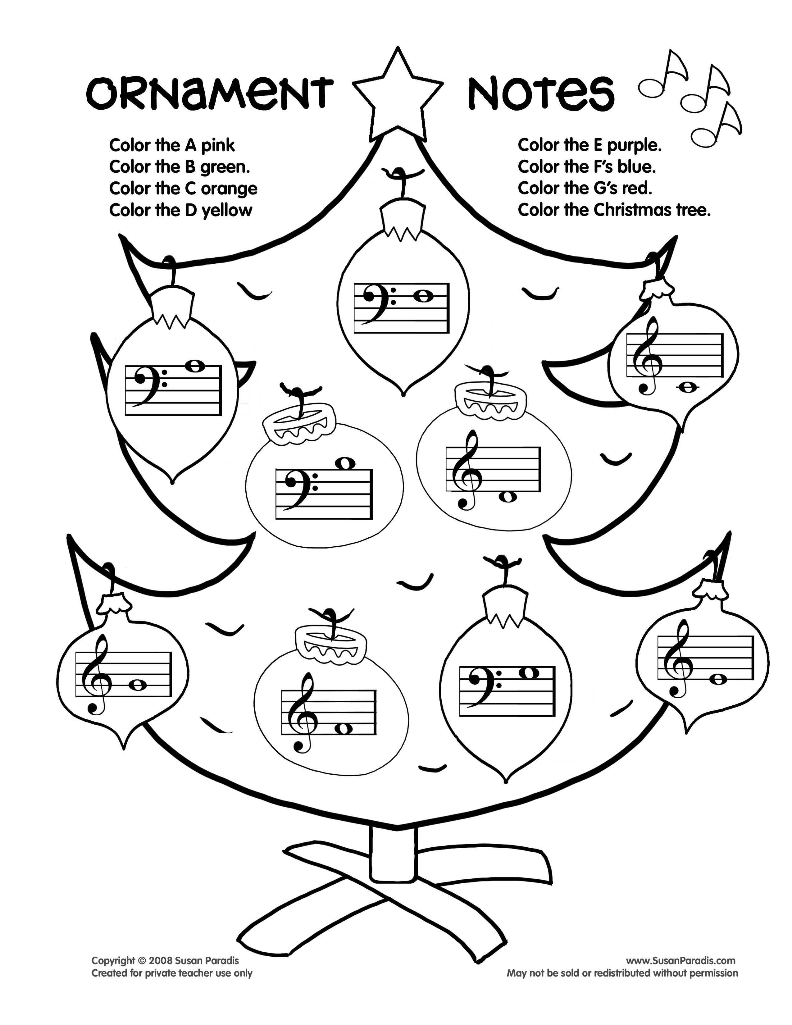 Music Notes Coloring Pages Preschoolers At Getdrawings