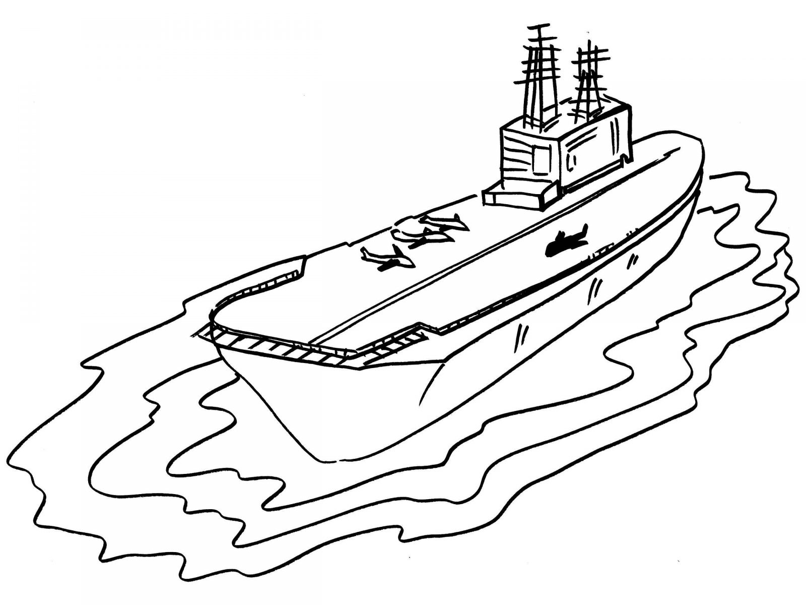 32 Navy Ship Coloring Pages