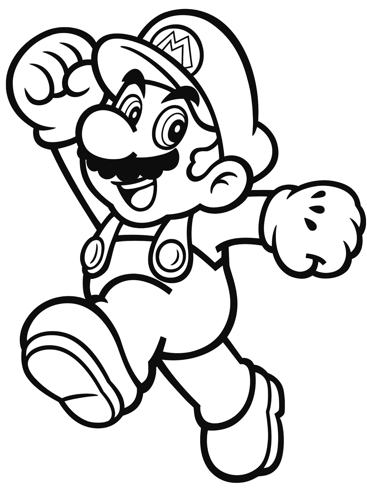 Nintendo Characters Coloring Pages At Getdrawings