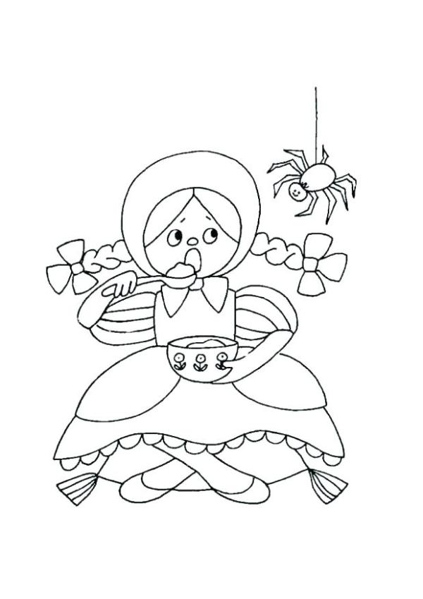 nursery rhyme coloring pages # 25