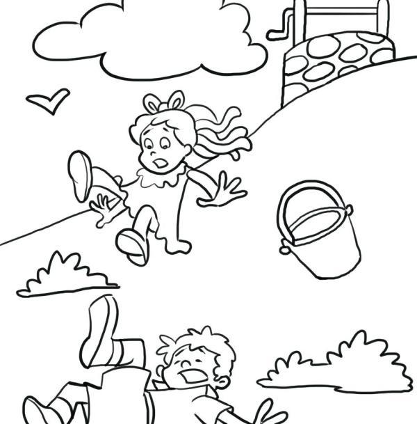 nursery rhymes coloring pages # 62