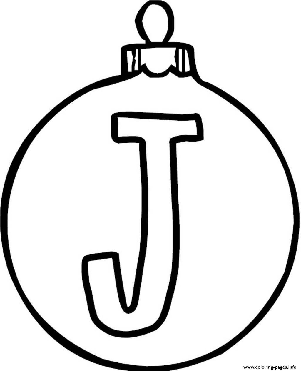 Ornaments Christmas Coloring Pages At Getdrawings