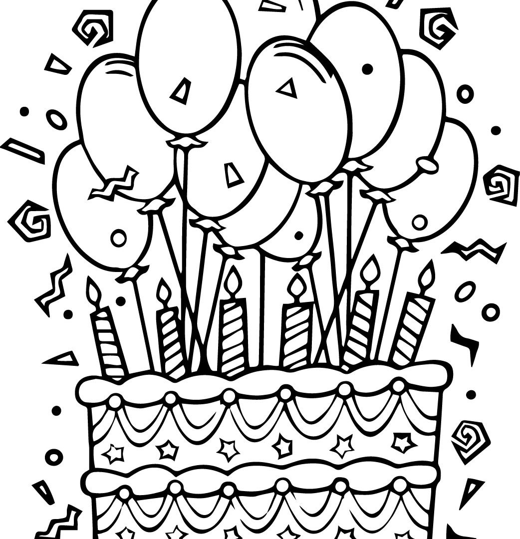 Worksheet Color The Balloons
