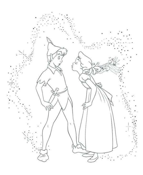 peter pan coloring page # 32