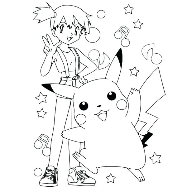pikachu  hat coloring pages at getdrawings  free download